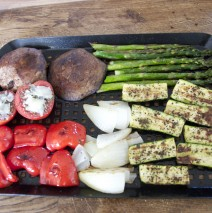 Barbecue Mixed-Grill Vegetables